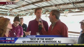 Town Takeover: Bob checks in from Best of the Wurst in Riverside