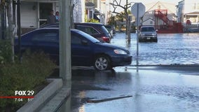 Shore communities deal with coastal storm flooding