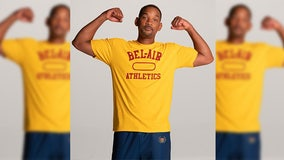 Bel-Air Athletics: Will Smith launches limited-run 'Fresh Prince' inspired clothing line