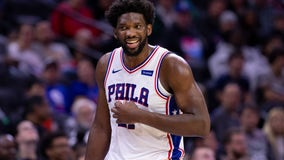 Joel Embiid to miss second game of season with ankle sprain
