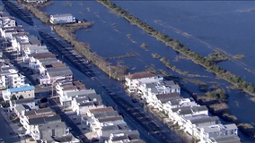 Shore communities deal with coastal storm's flooding