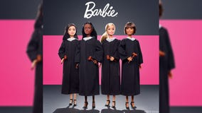 Barbie takes on new role as judge to inspire girls to dream of judicial careers