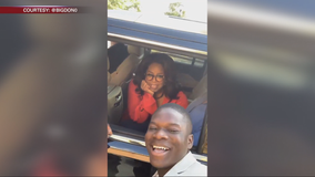 Morehouse student snags selfie with Oprah, she responds in a big way