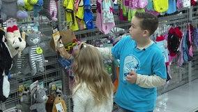 11-year-old leukemia survivor treated to shopping spree