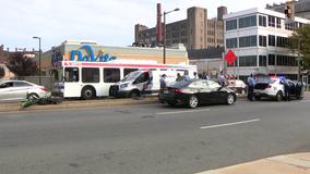 Officer injured making arrest after dirt bike rear-ends unmarked police vehicle
