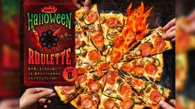 Domino's Japan selling 'Halloween Roulette' pizza, which has ghost pepper sauce on one random slice