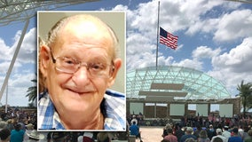 2,000 attend funeral of Florida veteran who died alone