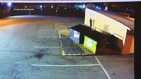 Allentown police search for man suspected of graffiti vandalism