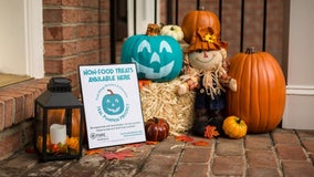 Teal Pumpkin Project promotes safe trick-or-treating for kids with food allergies