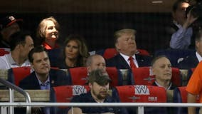 VIDEO: President Trump booed at World Series Game 5 at Nationals Park