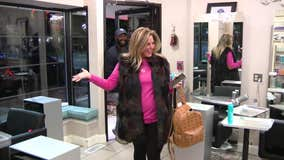 Family and friends throw surprise celebration for breast cancer survivor
