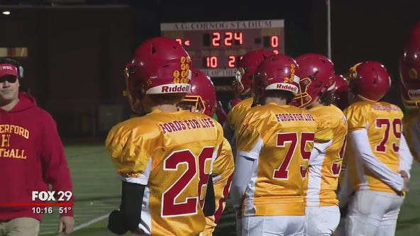 High School Football Friday: Haverford High School raises money to fight cancer