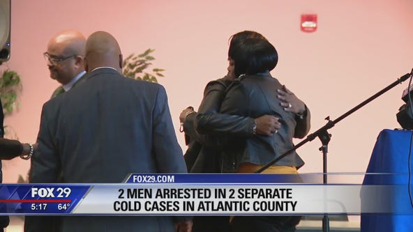 Prosecutors announce charges in 2 cold cases in Atlantic County