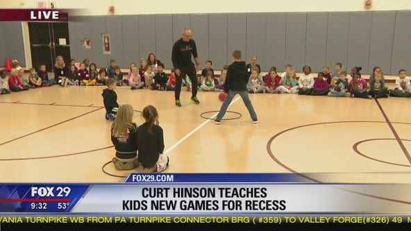 Dr. Recess teaches kids new, fun schoolyard games