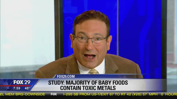 Study shows baby foods contain toxic metals