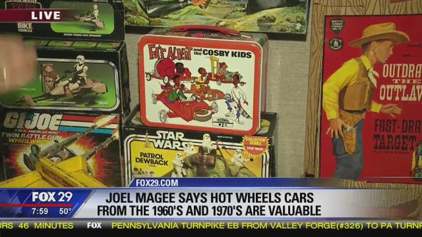 Jenn chats with America's Toy Scout, Joel Magee