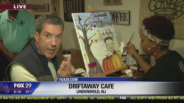 Lindenwold artist creates Town Takeover painting
