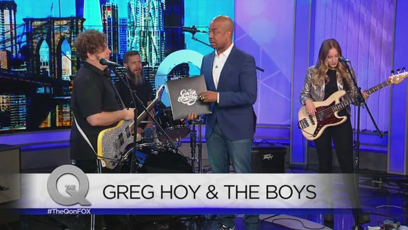 Greg Hoy & The Boys visit The Q