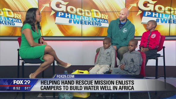 Helping Hands Rescue Mission builds water well in Africa