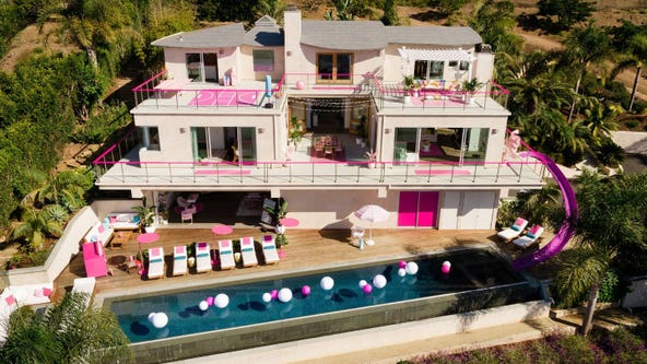 Barbie lists her real-life Malibu Dreamhouse on AirBNB for $60 a night