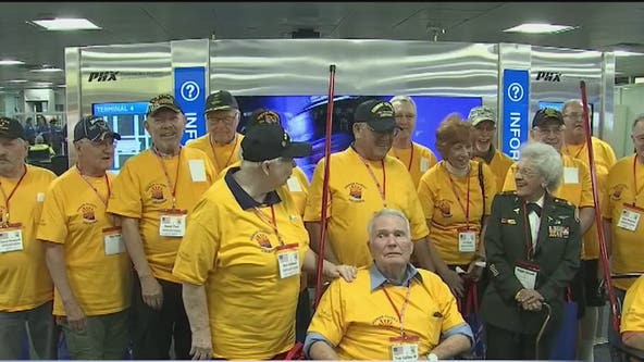 Vietnam veterans travel to Washington D.C. through Honor Flight Arizona