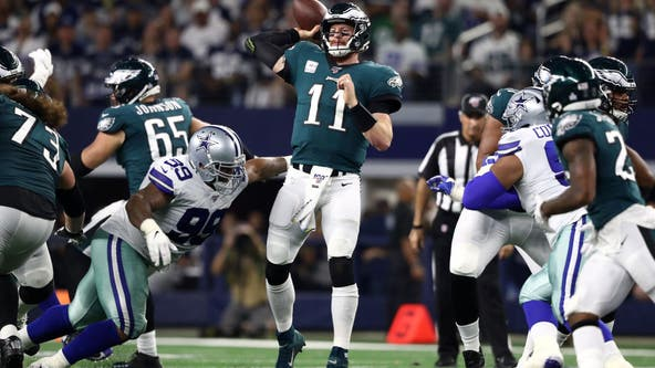 Eagles fall to the Cowboys 37-10