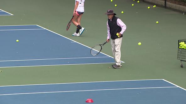 Game, set, match as Haddonfield Memorial High School celebrates record setting tennis coach