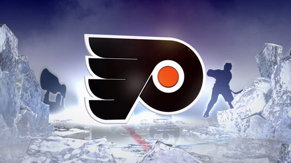 Giroux's 4-point night leads Flyers past Canes, 5-3