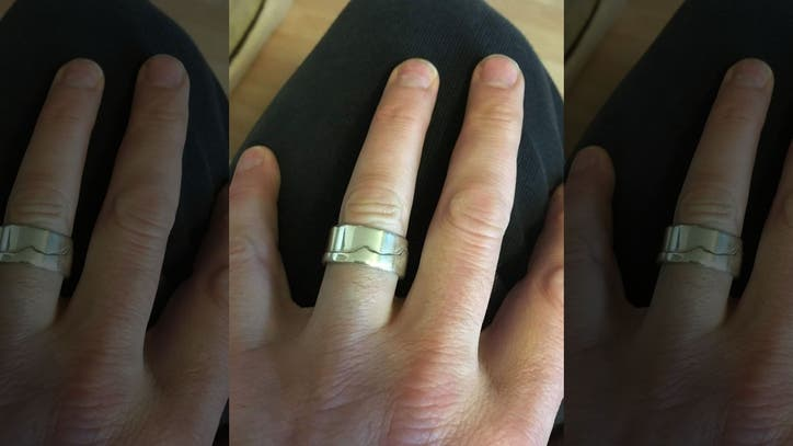 man who lost wedding ring in ocean is miraculously