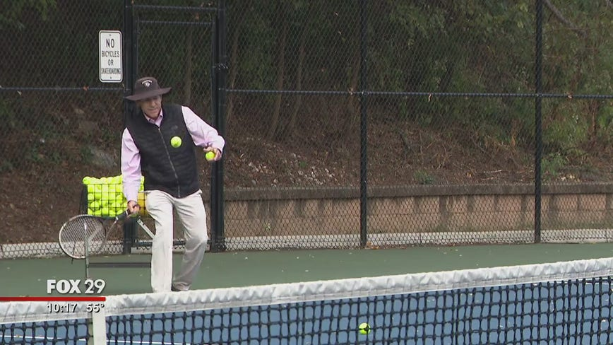 Haddonfield High School's historic record setting tennis coach