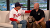 Military veteran credits service dog with saving his life after suicide attempt