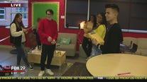 William Tennent High School students investigate crime scenes in class