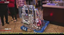 Bensalem High School robotics team joins Town Takeover
