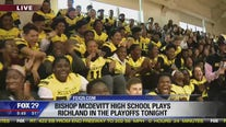 Bishop McDevitt High School playoff pep rally
