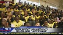 Bishop McDevitt High School playoff pep rally