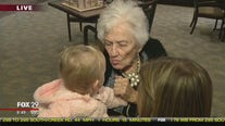 Grandmother, granddaughter share birthday nearly a century apart