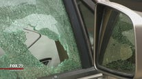 Car windows on Olney block shot out leaving neighbors to clean up and pay for repairs