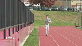 St. Joseph's University senior runs 5K a day for good cause
