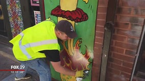 Local man starts team to clean up community by removing graffiti