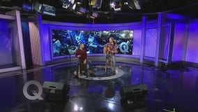 Local musicians Pat and Sean Kelly perform on The Q