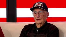 WWII Veteran Albert Booth celebrates 100th birthday