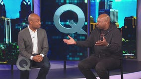 Comedian David James stops by The Q!