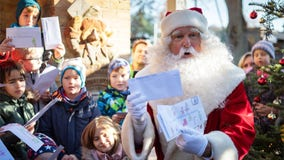 Santa Claus back at work in Germany answering Christmas mail