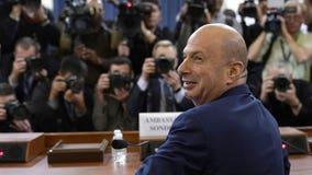 Ambassador Sondland says he 'followed president's order' to work with Giuliani on Ukraine