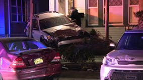 Police: Car that crashed into parked cars in NJ was fleeing from officers