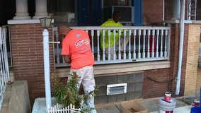 Volunteers help fix homes damaged in North Philly police shootout