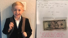 Tampa elementary student offers teacher his birthday cash, saying teachers don't get paid enough