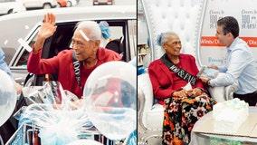 Winn-Dixie celebrates employee's 100th birthday with lavish party