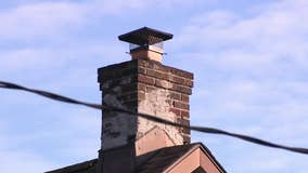 Allentown family displaced after house fire starts in chimney