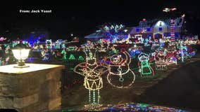 Popular Christmas display canceled this year in Upper Dublin